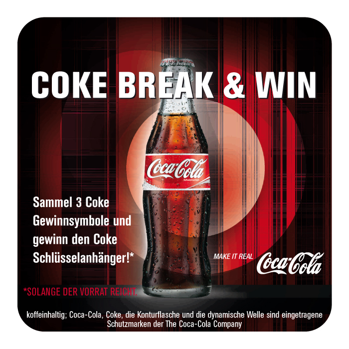 coca cola light the night aktion - Verkaufsforderung Beispiele